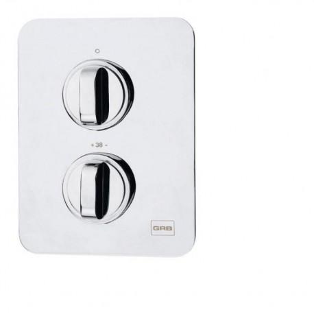 Mezclador termostático de ducha DESPERTAR ( empotrar ) 2 salidas . Grober