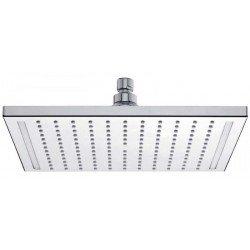 Rociador de ducha cuadrado DAYLIGHT de 300x300 mm con led blanco. Grober