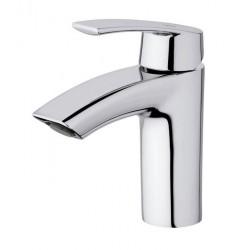 Monomando de lavabo PREMIER cromado con aireador oscilante . Grober