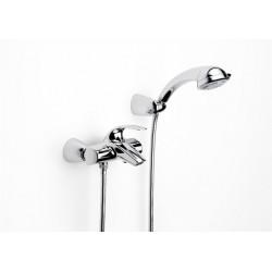 Monomando de baño ducha M2-N cromado . Roca