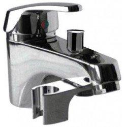 Monomando de bañera repisa sin equipo ECO-TRES cromado Ref: 17017302 . Tres