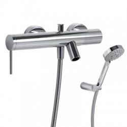 Monomando de baño ducha MONO-TERM cromado con equipo Ref: 20117001. Tres