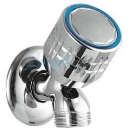 Grifo de lavadora ESE-23 de 1/2 3/4 fría cromado Ref: 123500F. Tres