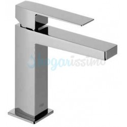 Monomando de lavabo SLIM-TRES con aireador y maneta Ref: 20210301 cromado. Tres