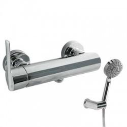 Monomando de ducha LEX-TRES cromado . Tres