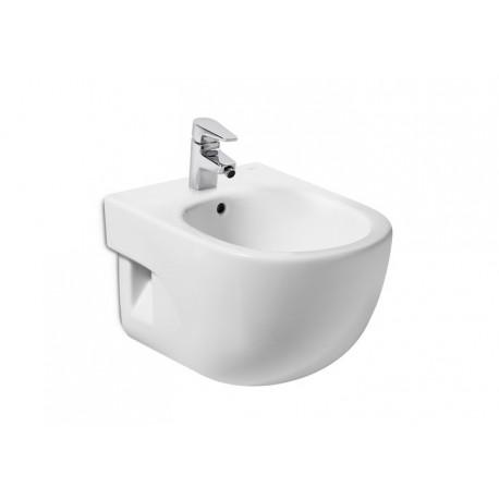 Bidé MERIDIAN-N compacto suspendido blanco . Roca