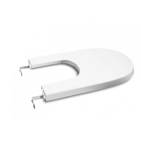 Tapa de bidé modelo MERIDIAN-N compacto con la caída amortiguada blanco . Roca