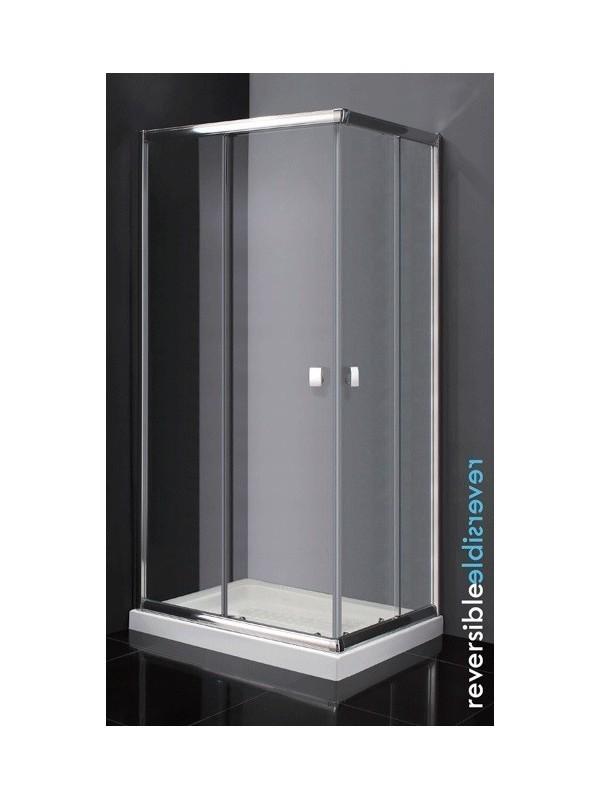 Mampara angular para ducha modelo titan apertura v rtice for Mampara ducha 70 x 90