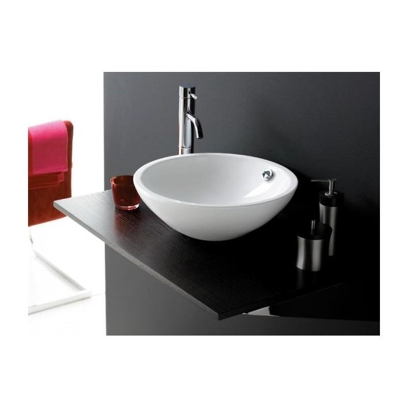 Lavabo sobre encimera redondo great lavabo sobre encimera - Lavabos redondos sobre encimera ...