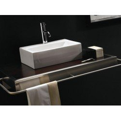 Lavabo rectangular GERONA . Bathco