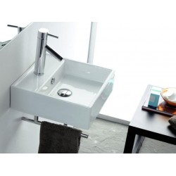 Lavabo rectangular GOMERA . Bathco
