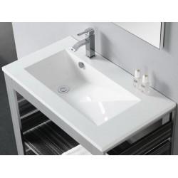 Lavabo rectangular TECNO-80 . Bathco
