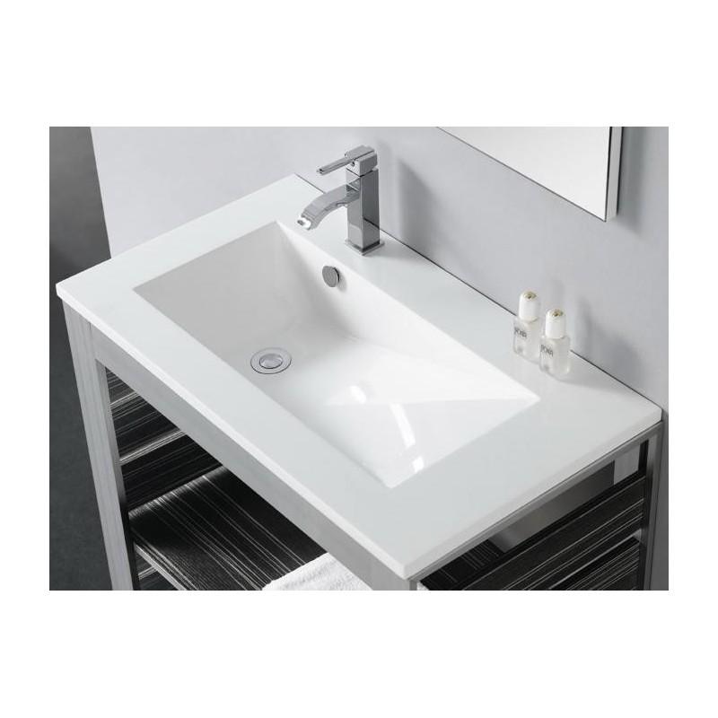 Lavabo rectangular torino b bathco for Lavabo rectangular