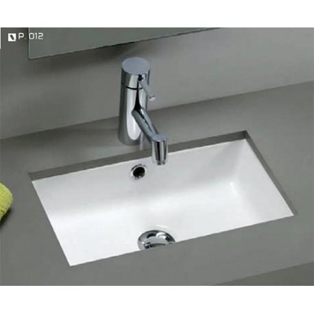 Lavabo de bajo encimera modelo mini agres unisan for Bajo lavabo de obra