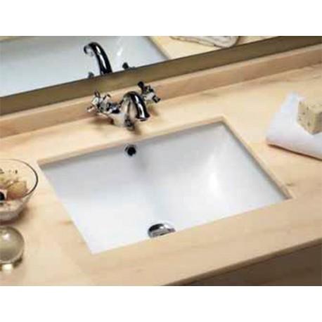 Lavabo rectangular de bajo encimera modelo BIAR.. Unisan.