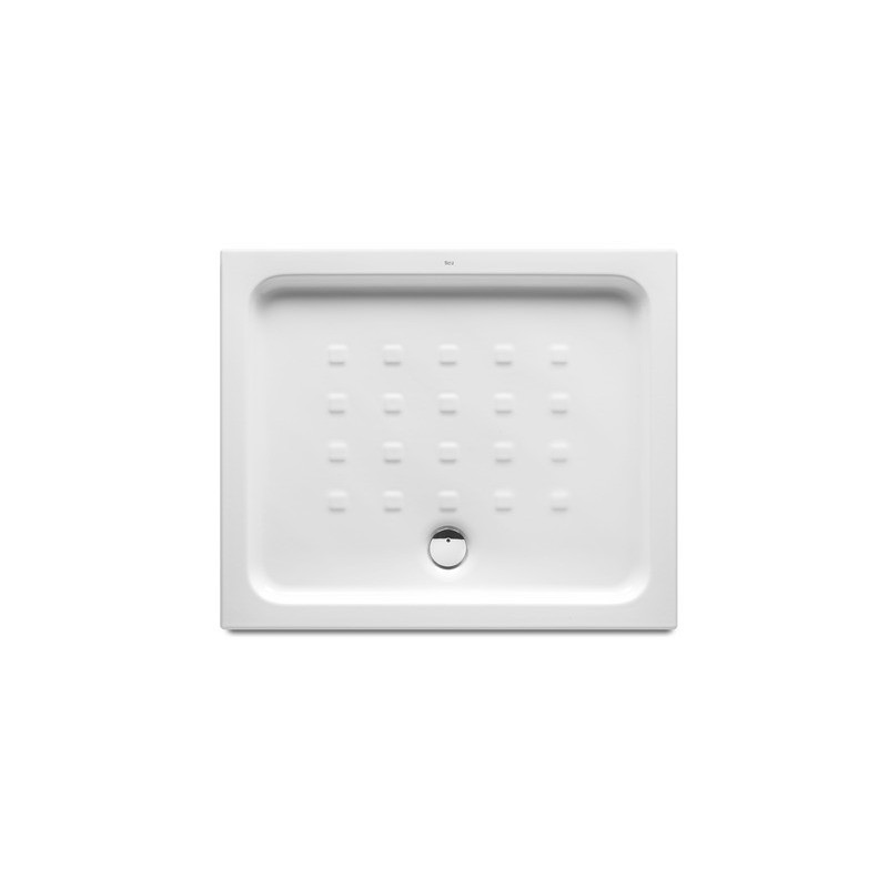 Plato de ducha de porcelana modelo easy de 90 x 75 blanco roca - Plato ducha 70 x 90 ...