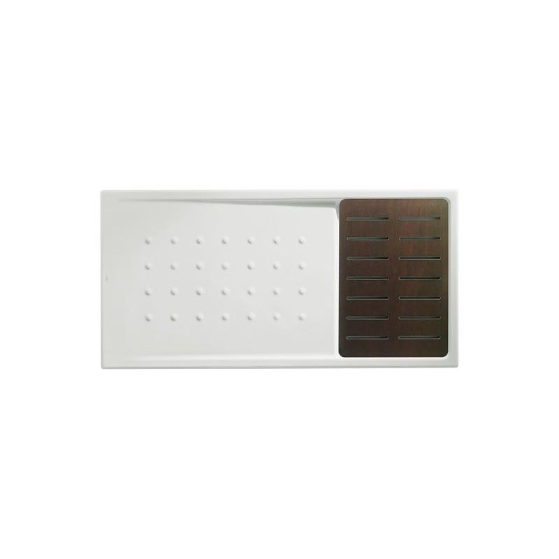Plato de ducha malta walk in 1400x70x80 blanco tarima for Plato de ducha 70 x 80