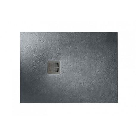 Plato de ducha de STONEX TERRAN de 100 x 70 x 26 pizarra . Roca