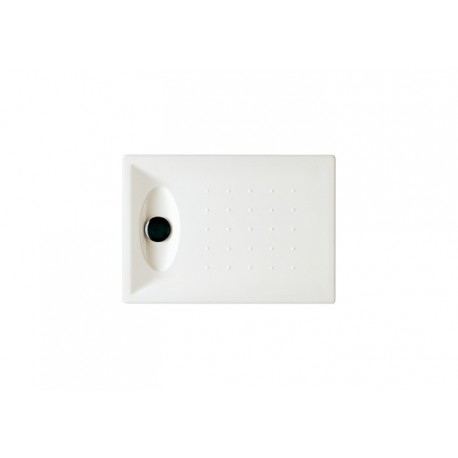 Plato de ducha acr lico modelo opening de 100 x 80 blanco roca for Plato de ducha 70 x 80
