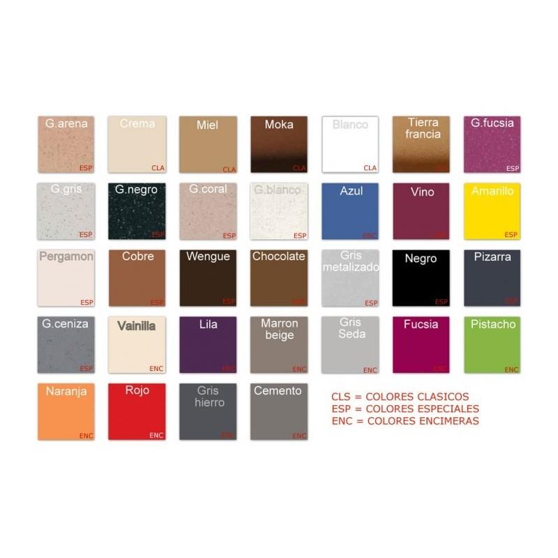 Encimera de granito colores silestone encimera de cocina for Granito color blanco