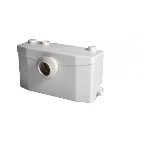 Triturador SANIPLUS adaptable al WC de salida horizontal . Sanitrit