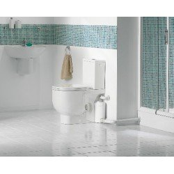 Triturador SANISLIM de 4 salidas para inodoro, lavabo, ducha y bidé . Sanitrit