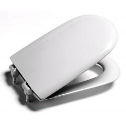 Asiento para inodoro modelo MERIDIAN blanco . Roca