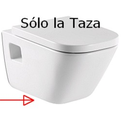 Taza THE GAP suspendida blanco ( sin tapa ) . Roca