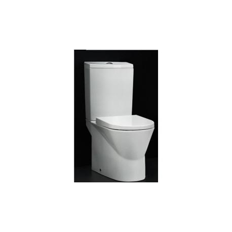 Cisterna baja con tapa y mecanismos de alimentación inferior para inodoro de 60 CITY blanco. Unisan