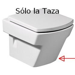 Taza HALL suspendida blanca ( sin tapa ) . Roca