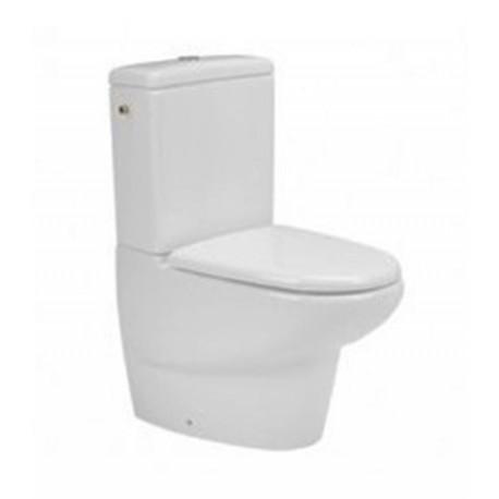 Inodoro cisterna baja salida dual modelo AITANA blanco ( solo taza ). Unisan