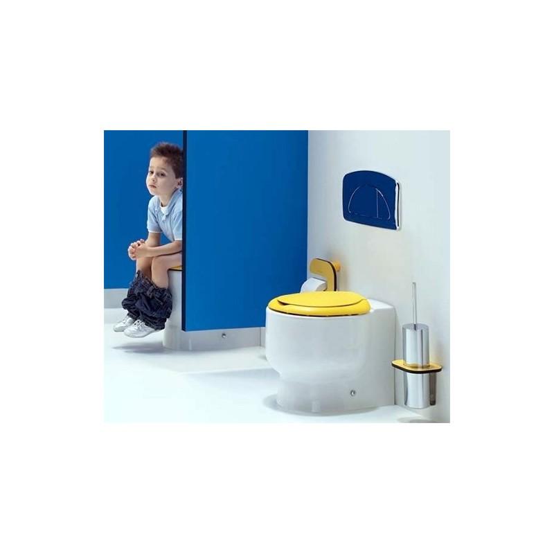 Inodoro wckids para cisterna alta empotrada y salida dual - Inodoro cisterna alta ...