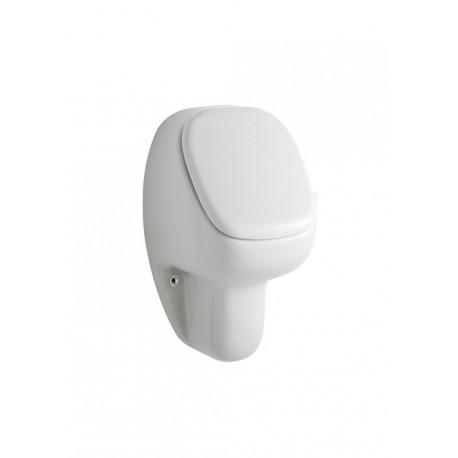 Urinario modelo URINET ( con tapa ) blanco . Roca