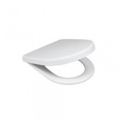 Asiento WC ALFA PLUS duroplast blanco. Unisan