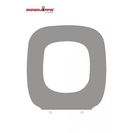 Asiento universal WC en MDF blanco ( adaptable a inodoros GALA ). Eizaquirre
