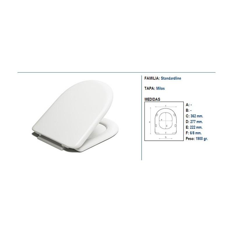 Tapas wc bellavista stylo perfect asiento inodoro italica for Sanitarios bellavista modelos antiguos