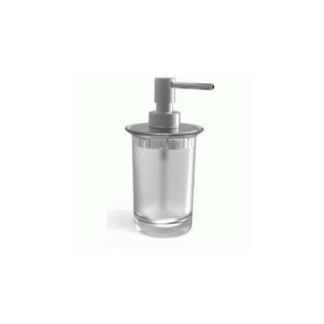 Dosificador de encimera TWIN cromado . Roca