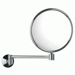 Espejo aumento HOTELS cromo brillo . Roca