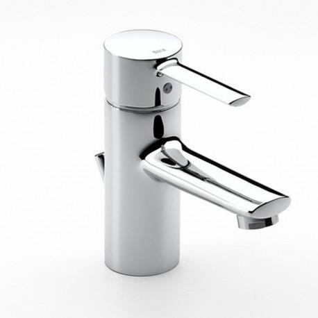 Monomando Mezclador para lavabo con desagüe automático TARGA CROMADO ROCA