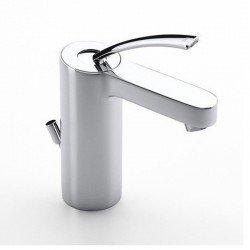 Monomando Mezclador para lavabo con desagüe automático MOAI CROMADO ROCA