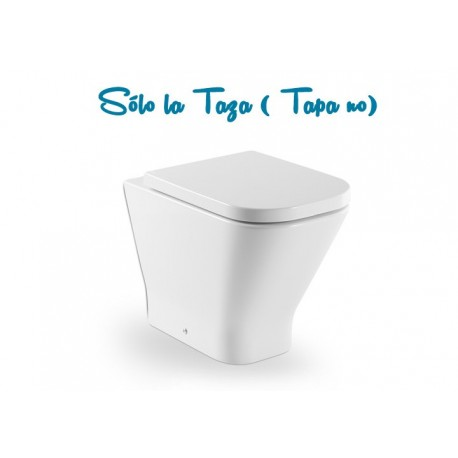 TAZA THE GAP TANQUE ALTO SALIDA DUAL BLANCO ( SIN TAPA ) ROCA