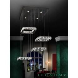 LAMPARA LED DIVA 4 CUADRADOS