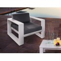 SILLON EXTERIOR JAVA BLANCO