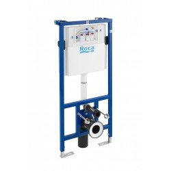 DUPLO WC - In-Wall -  Bastidor con cisterna empotrable de doble descarga para inodoro suspendido.  Codo de 90 ø / 110 ø.