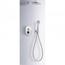 Kit de ducha empotrado ALPLUS CROMADO