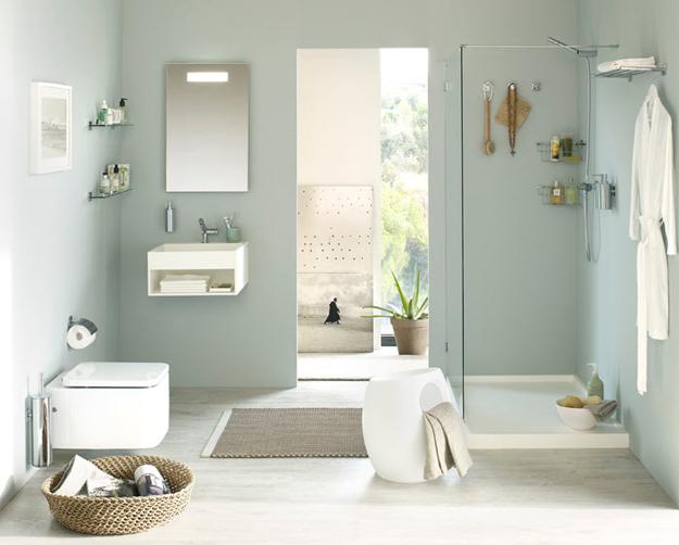 Estanterias Para Baño Sin Taladro:Baños modernos sin taladros