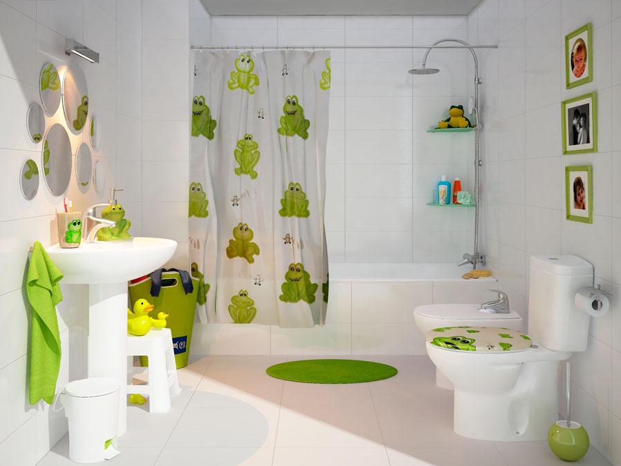 6 Sugerencias Para Decorar Baños Para Niños