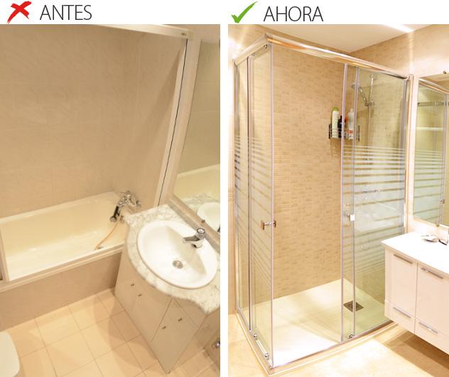 4 razones para cambiar la ba era a ducha for Precio hacer un cuarto de bano nuevo