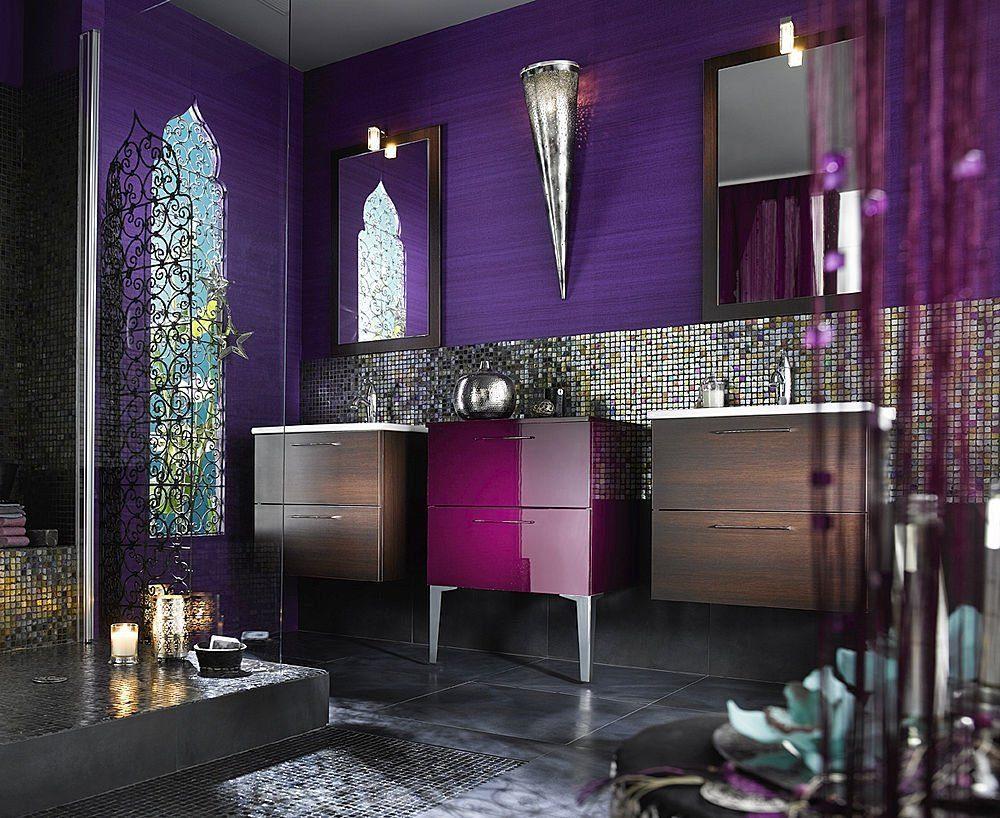 estilo árabe para un baño - complementos para cocinas modernas